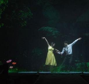 广州汇华希尔顿逸林酒店举办2017春季主题婚礼秀