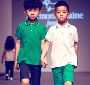 意大利著名品牌Harmont & Blaine Junior再度亮相上海国际儿童时装周