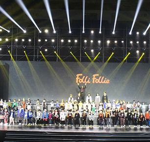 FOLLIFOLLIE 160名国际潮模引爆亚洲儿童时尚周