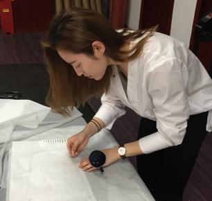 2017'魅力东方中国国际内衣创意设计大赛进入打版阶段