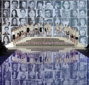 JSTYLE精美采用新媒体直播技术直击2017中国国际时装周