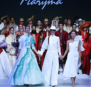 """马艳丽""""云秀·香格里拉"""" 让世界感受香格里拉之美 —— 将眼中的绝世美景做成衣服 Maryma春夏高定秀震撼亮相"""