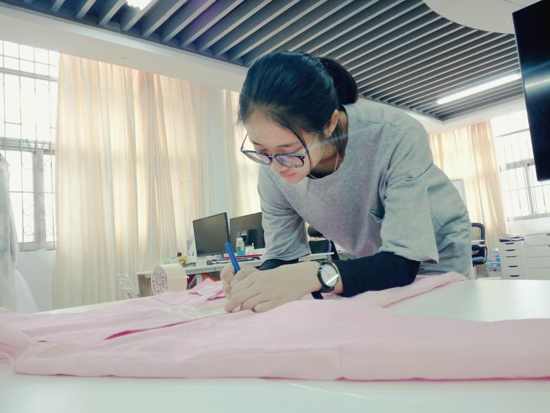 2017'安莉芳中国国际居家衣饰原创设计大赛打版进行时