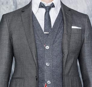 Thom Browne 2016年秋季主打羊毛产品