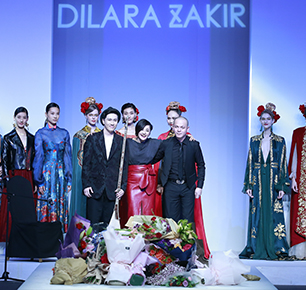 DILARA  ZAKIR寻迹大美新疆  西域元素点亮中国国际时装周